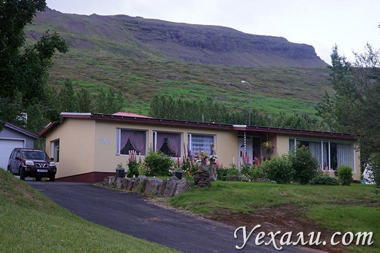 Небольшие красивые исландские города фото