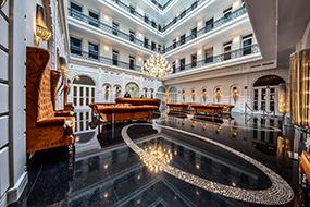 Лучшие отели в центре Будапешта 4 звезды. Prestige Hotel Budapest.