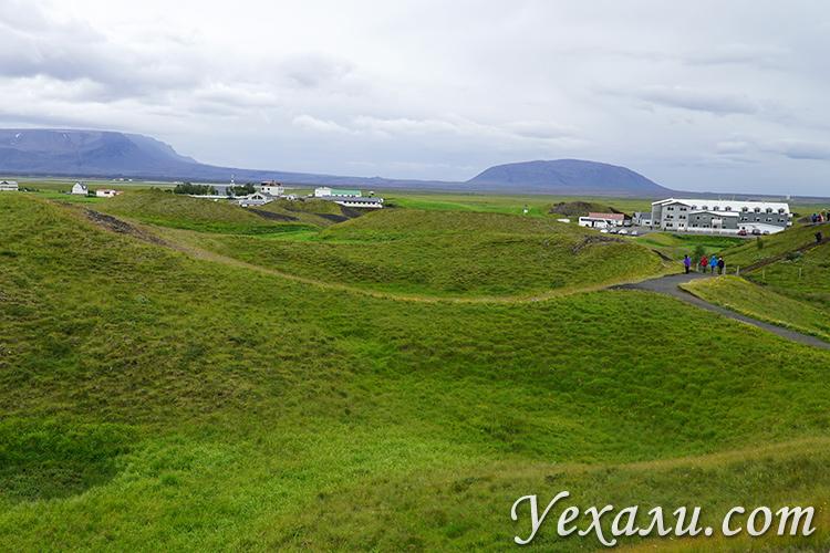 Псевдократеры Скутустадагигар в Исландии что это такое
