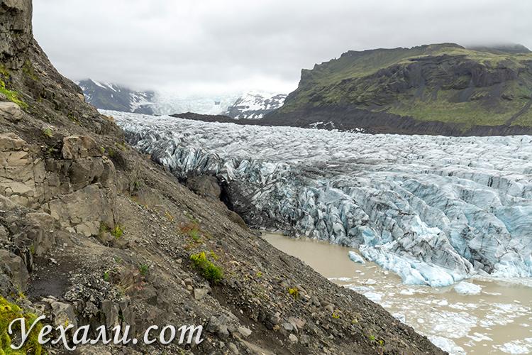 Ледник Свинафелл в Исландии и погибшие немецкие туристы