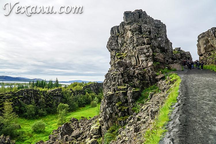 Маршрут Золотое Кольцо Исландии. Нац. парк Тингвеллир.