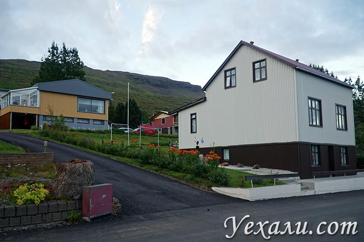 Фотографии городов в Исландии