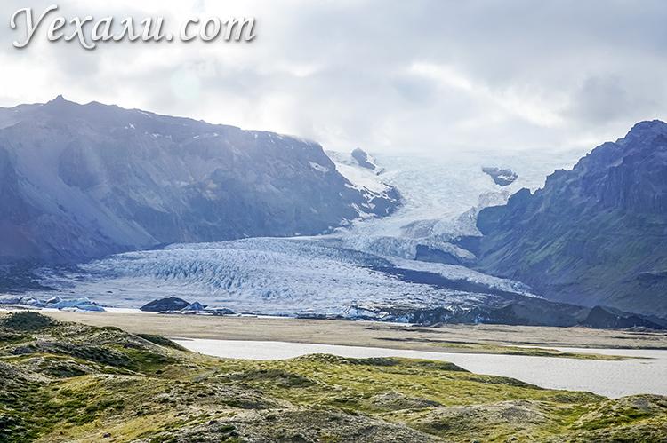 Ледник Ватнайекюдль, Исландия.