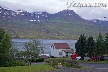 Восточный фьорды Исландии фото