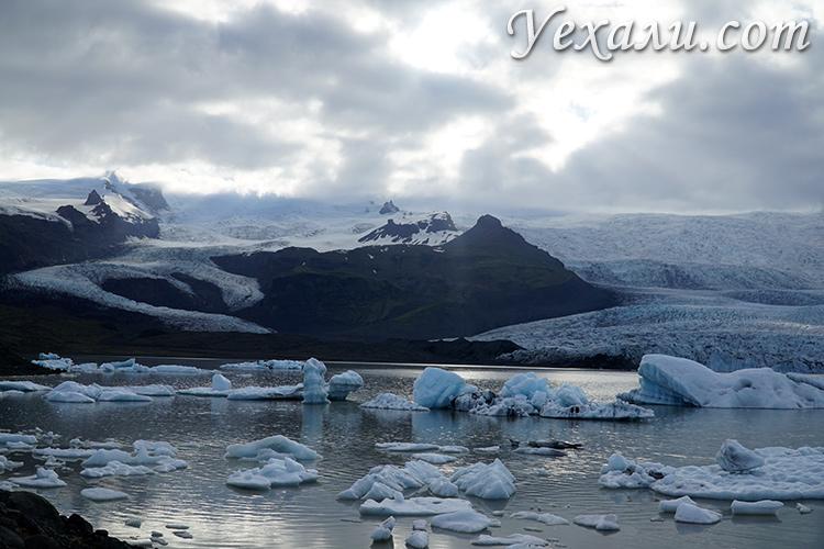 Ледники в Исландии, пропавшие туристы