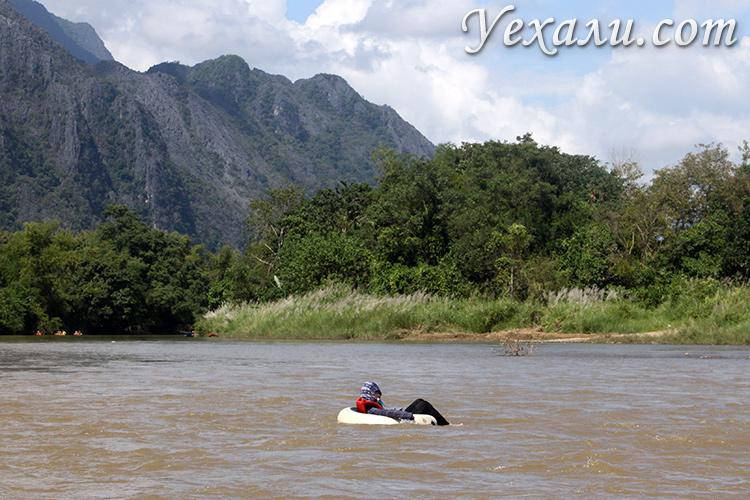 Фото алкотьюбинга в Ванг Вьенге - чем заняться