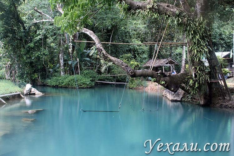 Голубая лагуна в Ванг Вьенге