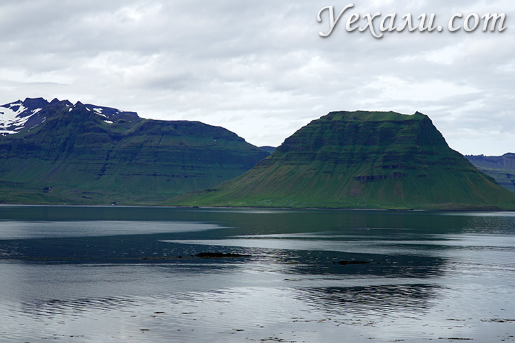 Вид из кемпинга в Исландии