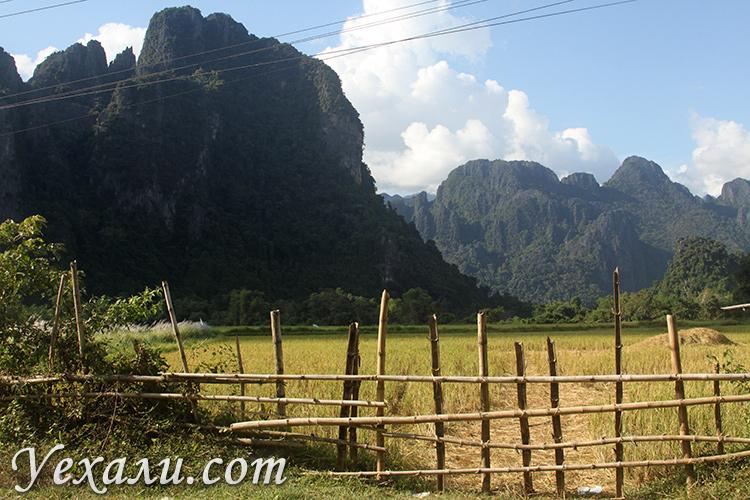 Почему стоит посетить деревню Ванг Вьенг в Лаосе