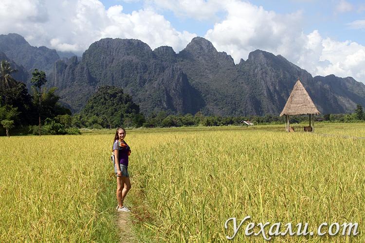 Чем заняться туристу в Ванг Вьенге, Лаос