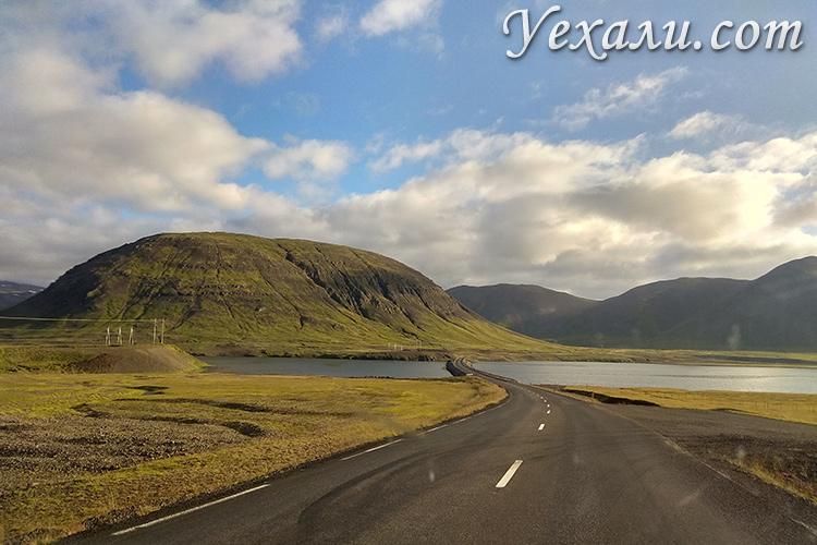 Фото западных фьордов в Исландии