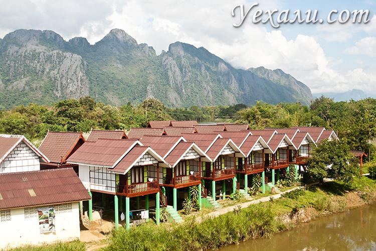 Фото гестхаусов в Ванг Вьенге, Лаос