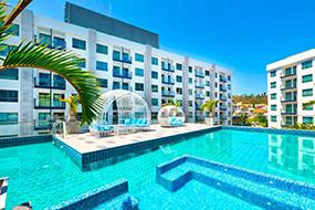 Аренда квартиры на Пратамнаке, Паттайя, Таиланд. Arcadia Beach Resort.
