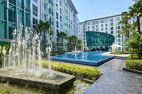 Снять квартиру в Паттайе, Тайланд. Кондо City Center Residence в центре Паттайи.