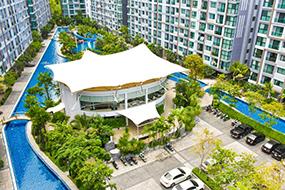 Снять квартиру на Джомтьене в Паттайе. Dusit Grand Park Condominium.
