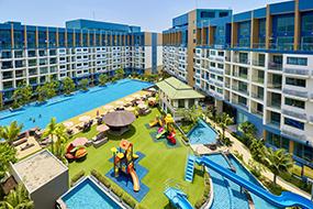 Аренда кондоминиума на Джомтьене. Laguna Beach Resort 2.
