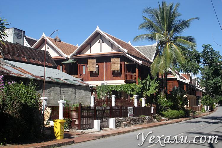 Фото домов и улиц Луанг Прабанга