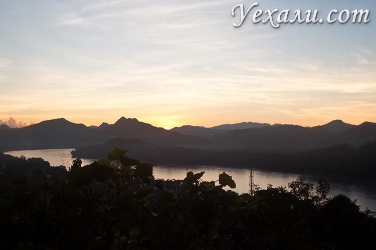 Закат в Луанг Прабанге