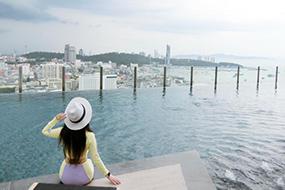 Как снять кондоминиум в Паттайе. The Base Pattaya, кондо в центре города.