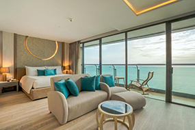 Отели северной Паттайи, Тайланд. Cape Dara Resort.