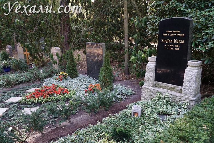Кладбище в Лейпциге