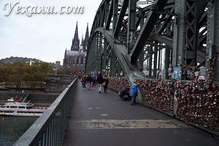 Фото моста в Кельне