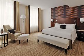 Отели Кельна в центре города. Cologne Marriott Hotel.