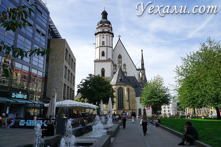 Улицы Лейпцига