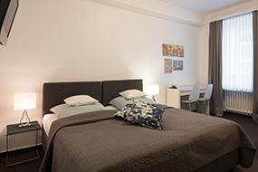 Недорогие отели в Кельне в центре города. Hotel Brandenburger Hof.