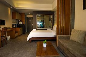 Лучшие отели Джомтьена, Паттайя, Таиланд. Inn Residence Serviced Suites.
