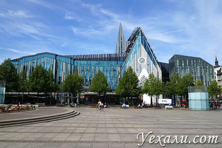Главные достопримечательности города Лейпцига: старейший университет Германии.