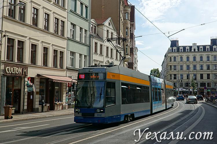 Общественный транспорт в Лейпциге