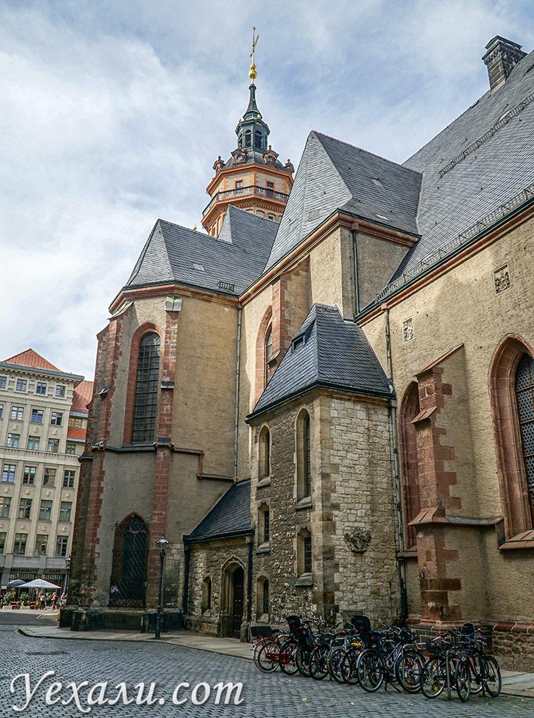 Церковь святого Николая в Лейпциге, Германия.