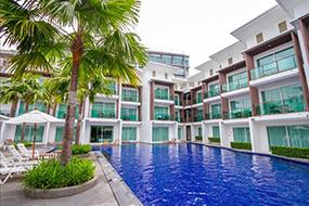 Отели на Вонгамат Бич в Паттайе. Prima Wongamat Hotel.