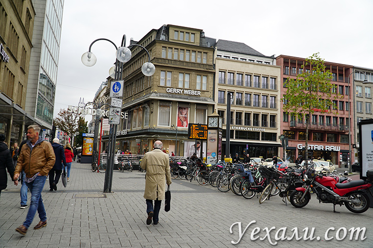 Фото Кёльна, улицы и люди