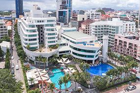 Отели в центре Паттайи, Таиланд. A One The Royal Cruise.