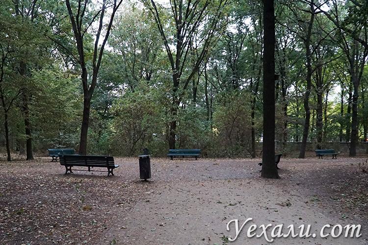 Фото Берлина, парк в центре города