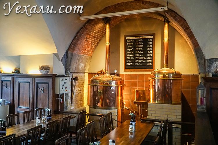 Лучшие пивные рестораны Берлина в центре. Brauhaus Lemke.