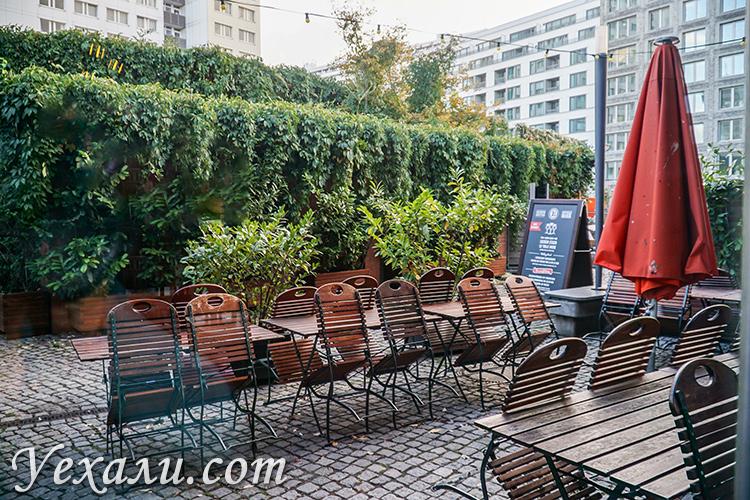 Пивной сад, Берлин, ресторан Brauhaus Lemke.