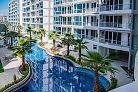 Где снять квартиру в центре Паттайи. Central Avenue Pattaya.