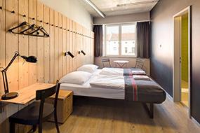 Недорогие отели в центре Берлина, Германия. Generator Berlin Mitte.