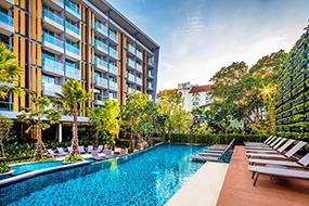 Недорогие отели центральной Паттайи. Hotel Amber.