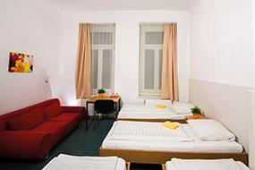 Недорогие отели Берлина в центре города. Hotel Pension Intervarko.
