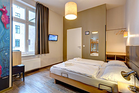 Отели Берлина в центре города на Букинге. Meininger Berlin Mitte.