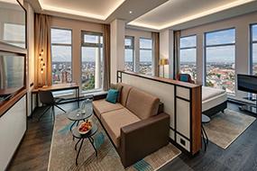 Отели Берлина в районе Митте. Park Inn by Radisson Alexanderplatz.