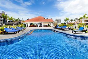 Лучшие отели центральной Паттайи с бассейнами. Siam View Residence.