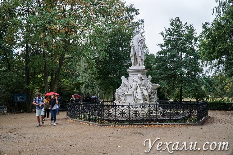 Достопримечательности Берлина, фото и описания. Парк Тиргартен.