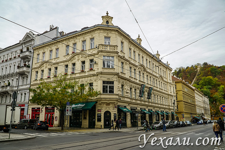Район Смихов, Прага, Чехия.