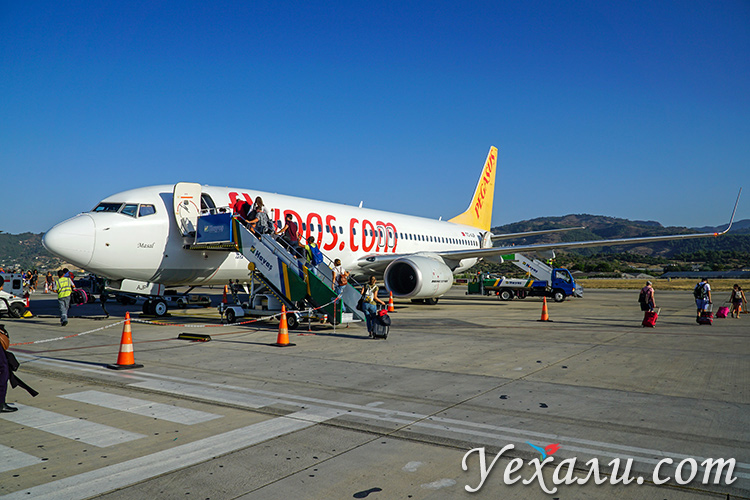 Аэропорт Газипаша, Аланья, Турция.