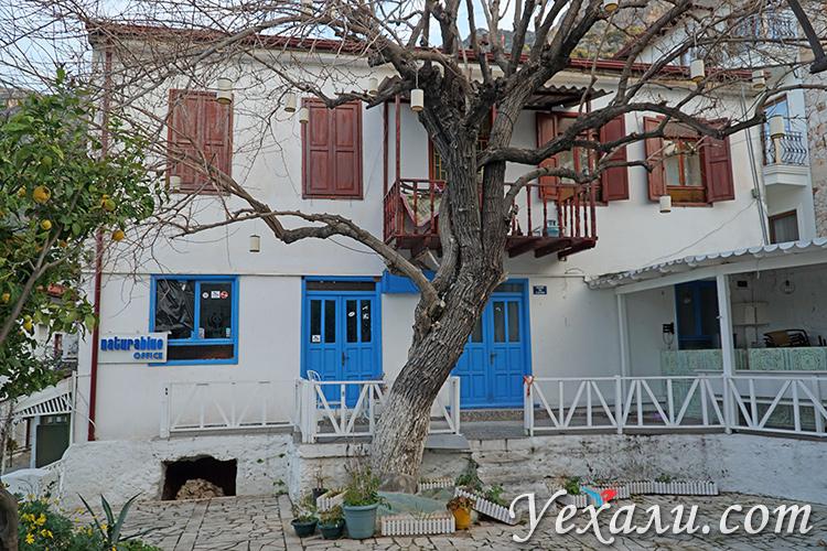 Улица и домик в Каше.